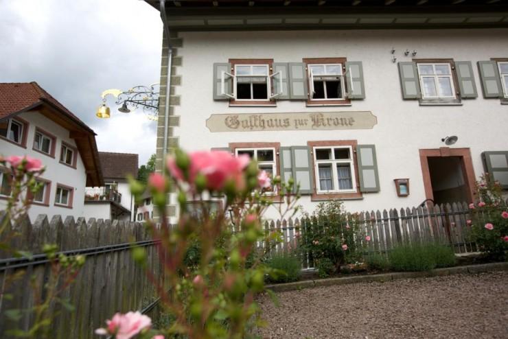 Außenansicht des Wirtshausmuseums Krone