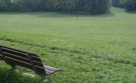 Sitzbank am Eichener See