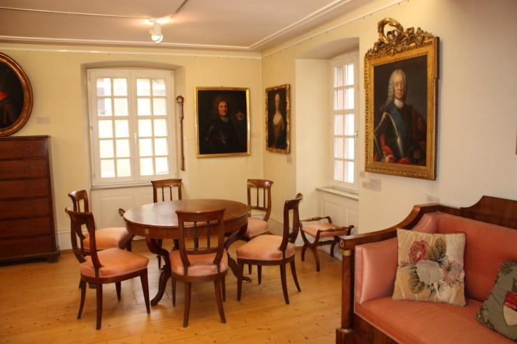 Roggenbachsaal im Museum der Stadt Schopfheim