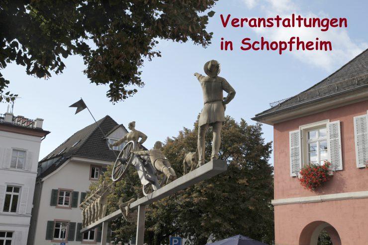 Schopfheim Veranstaltungen