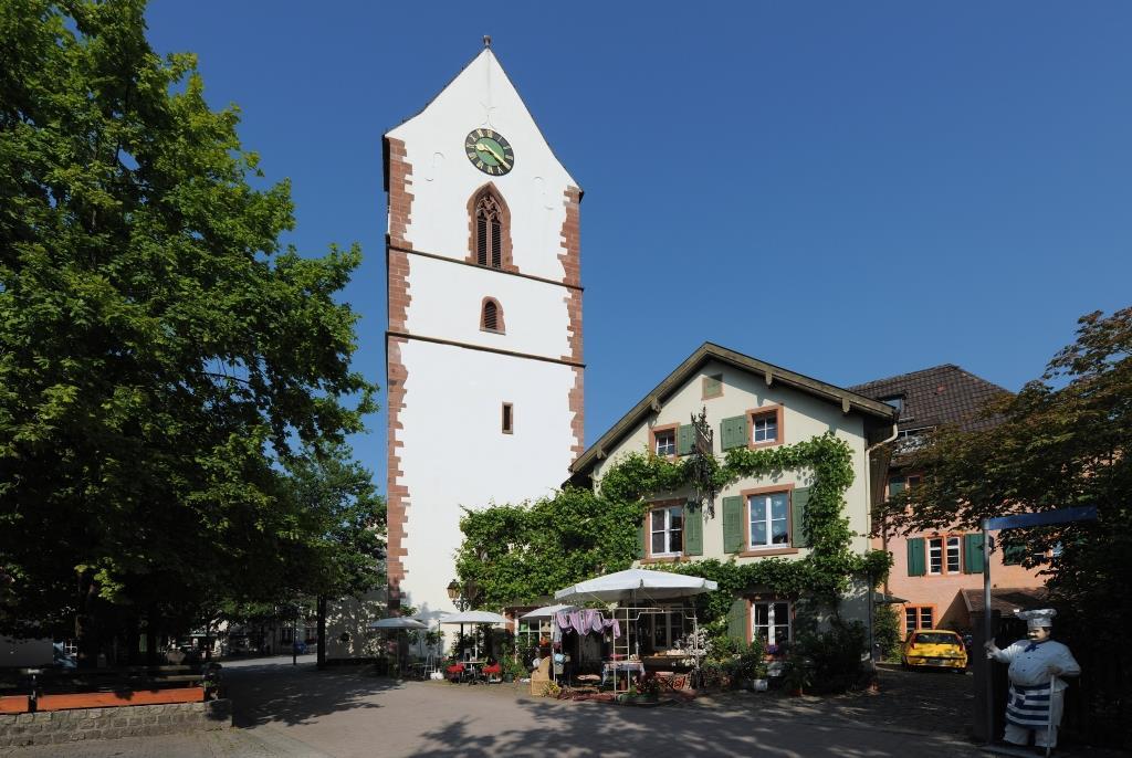 Alte Kirche St. Michael in der Altstadt von Schopfheim