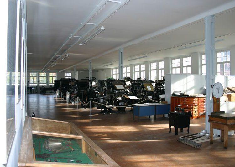 Innenraum des technischen Museums in Schopfheim Fahrnau