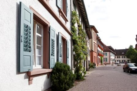 Altstadt in Schopfheim Hausfassade