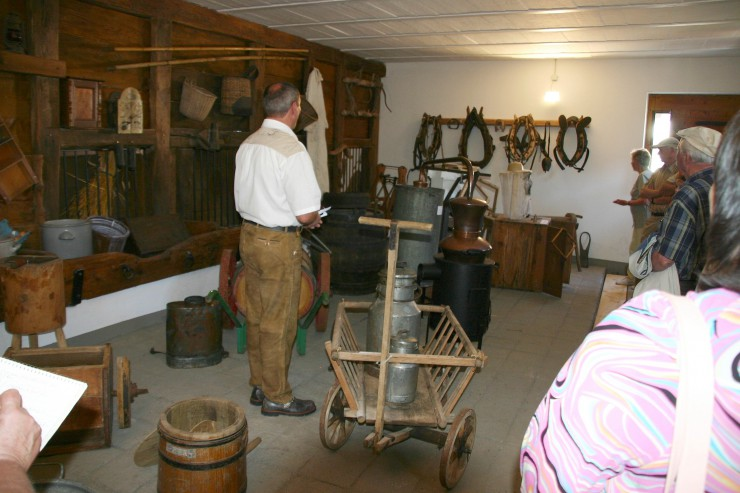Eröffnung des Dorfmuseums Eichen im Schopfheimer Ortsteil Eichen