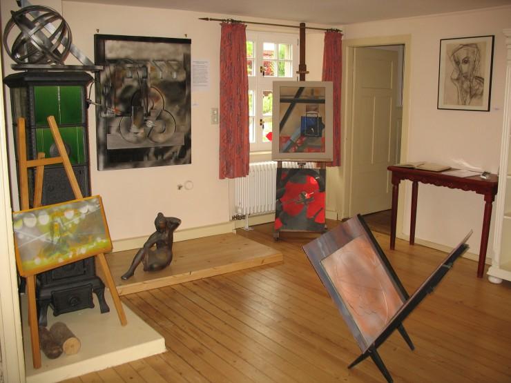 Kunstwerke im Otto-Erich-Döbele Museum