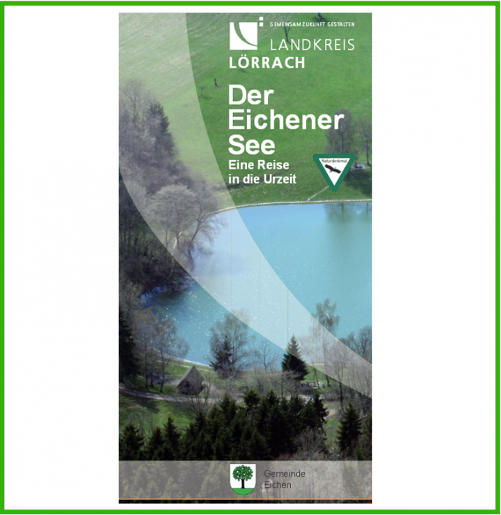 """Titelbild des Flyers """"Der Eichener See"""""""