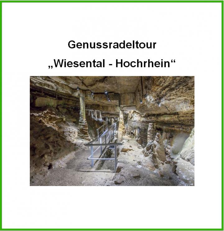 """Titelbild """"Genussradeltour Wiesental-Hochrhein"""""""