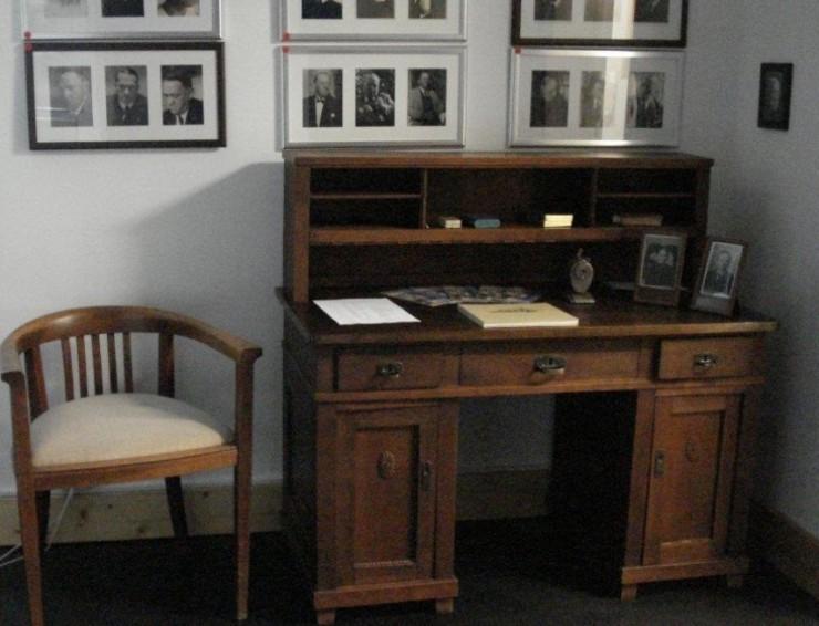 Hermann-Burte-Archiv im Rathaus Maulburg