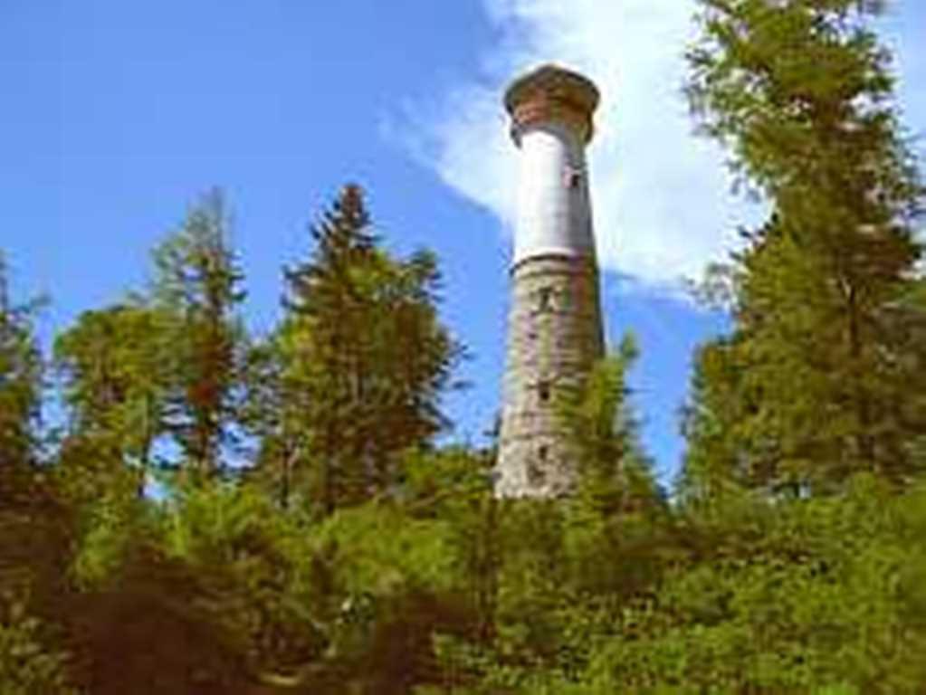 """Aussichtsturm """"Hohe Möhr"""" oberhalb von Zell im Wiesental"""
