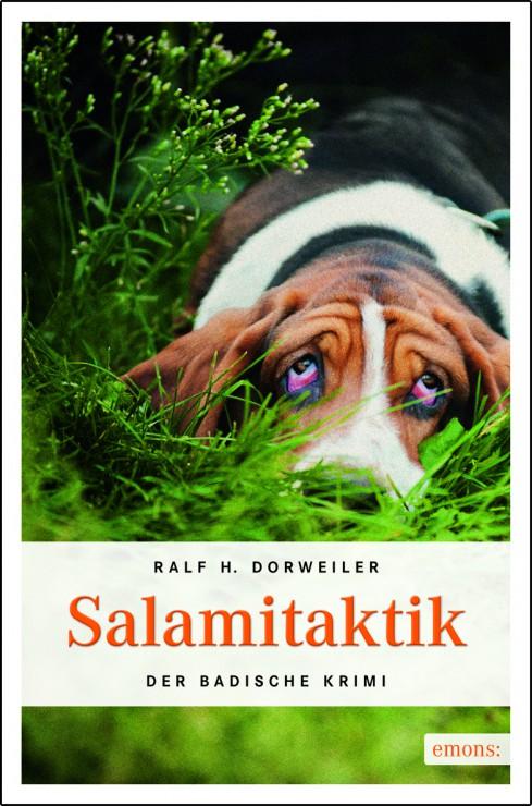 """Buchcover """"Salamitaktik"""" von Ralf H. Dorweiler"""