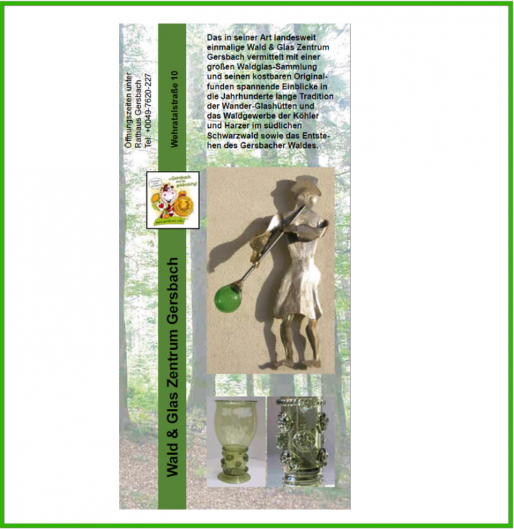 Titelbild Waldglaszentrum