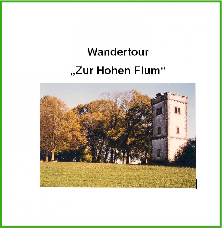 """Titelbild """"Wandertour Hohe Flum"""""""