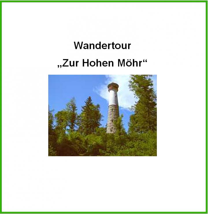 """Titelbild """"Wandertour Hohe Möhr"""""""