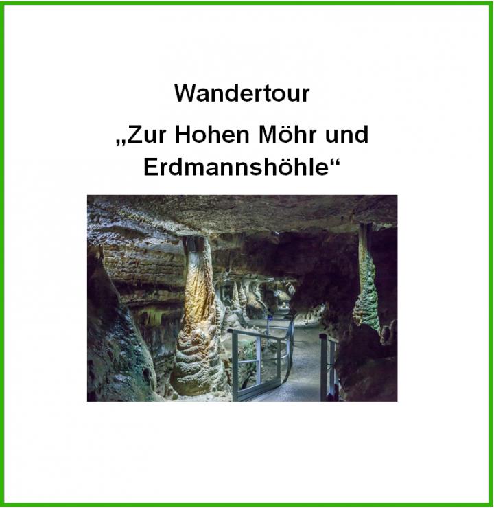 """Titelbild """"Wandertour Hohe Möhr Erdmannshöhle"""""""