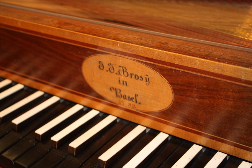Musik im Museum - das Tafelkalvier